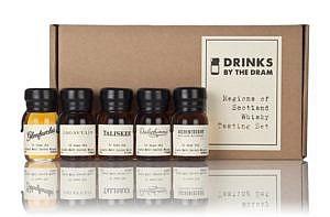 Whisky Boutique-y Regions of Scotland tasting set