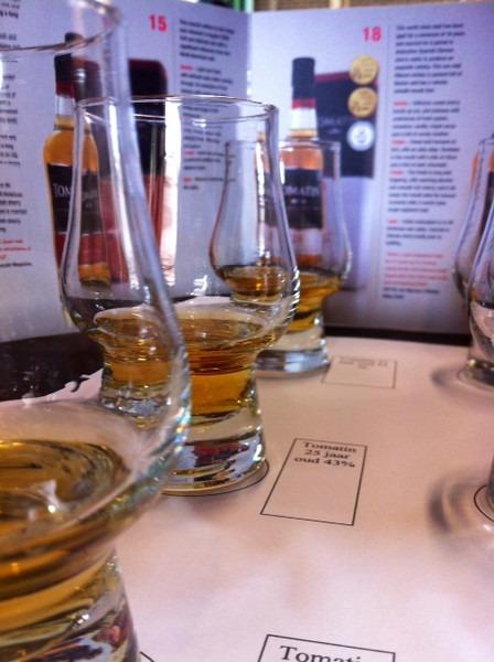 Whisky Tomatin proeverij - 3 samples