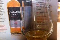 Whisky Tomatin proeverij 30 jaar oud