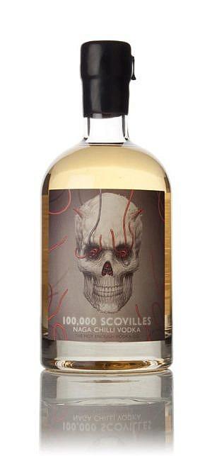 Fles - Vodka - Master of Malt - Naga Chilli - 100.000 Scovilles - 0,7l - 40%