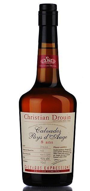 Fles - Calvados - Christian Drouin - Plaisir Andalou - Pays d'Auge - 0,7l - 40%