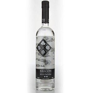 Fles - Gin - Brecon Botanicals - Pendryn - Wales - 0,7l - 43% - (3)