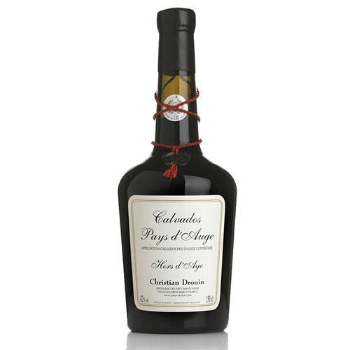 Fles - Calvados - Christian Drouin - Hors d'Age - Pays d'Auge - 0,7l - 42%
