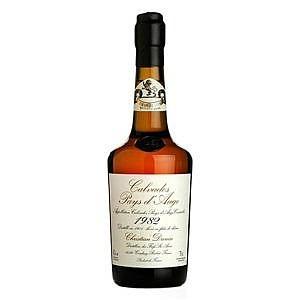 Fles - Calvados - Christian Drouin - Millésime 1982 - Pays d'Auge - 0,7l - 42%