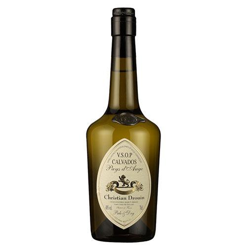 Fles - Calvados - Christian Drouin - VSOP Pale & Dry - Pays d'Auge - 0,7l - 40%