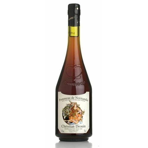 Fles - Pommeau - Christian Drouin - De Normandie - 0,75l - 17%