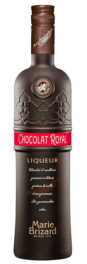 Fles - Likeur - Marie Brizard - Chocolat Royal Brown - 0,7l - 17% (1)
