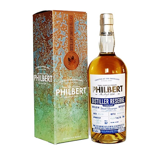 Fles & Case - Cognac - Philbert - Distiller Reserve Small Batch Grande Champagne - 0,7l - 41,5%