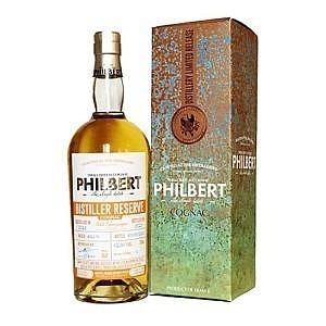 Fles & Case - Cognac - Philbert - Distiller Reserve Small Batch Petit Champagne - 0,7l - 41,5%