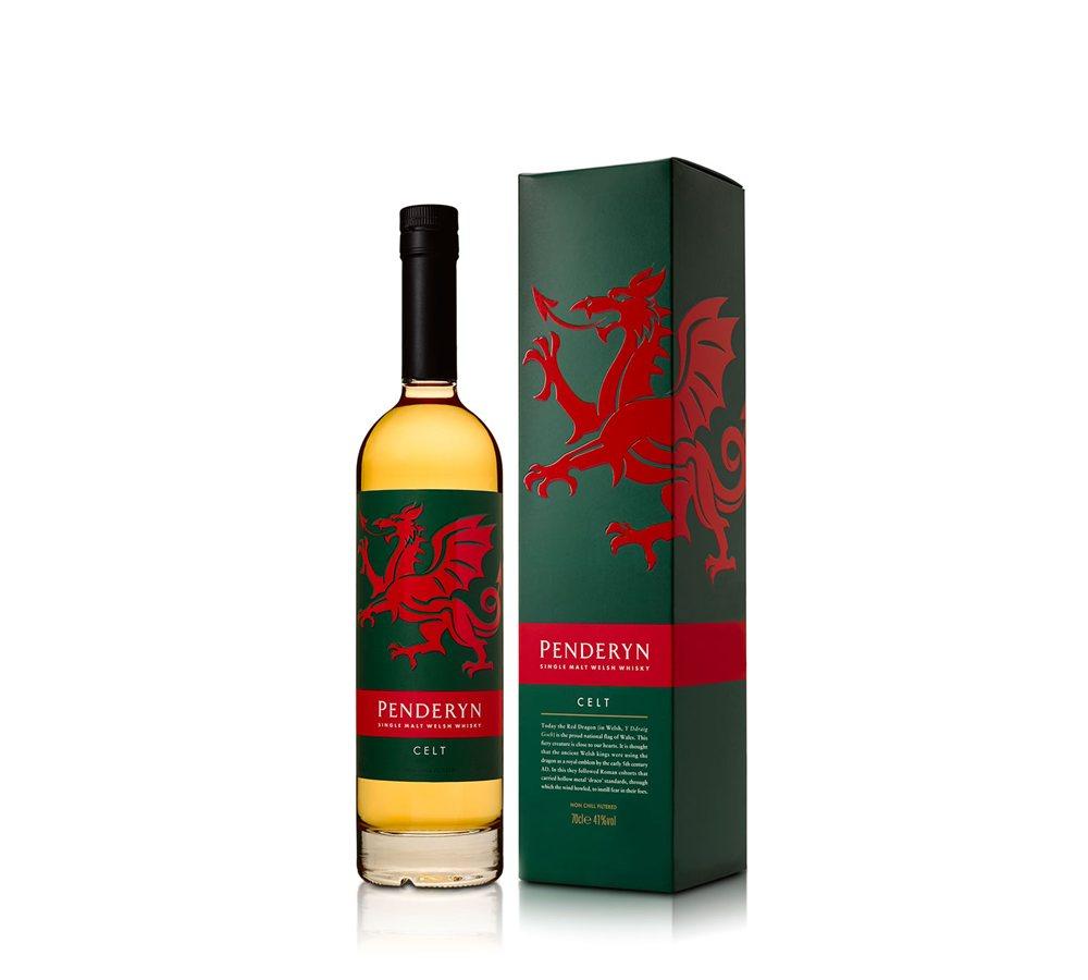 Fles - Whisky - Penderyn Wales - Celt Peated - 0,7l - 41%