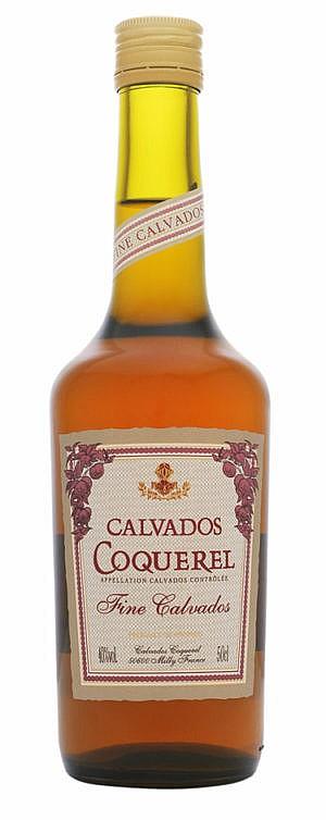 Fles - Calvados - Coquerel - 2y old - Fince Calvados - 0,5l - 40%