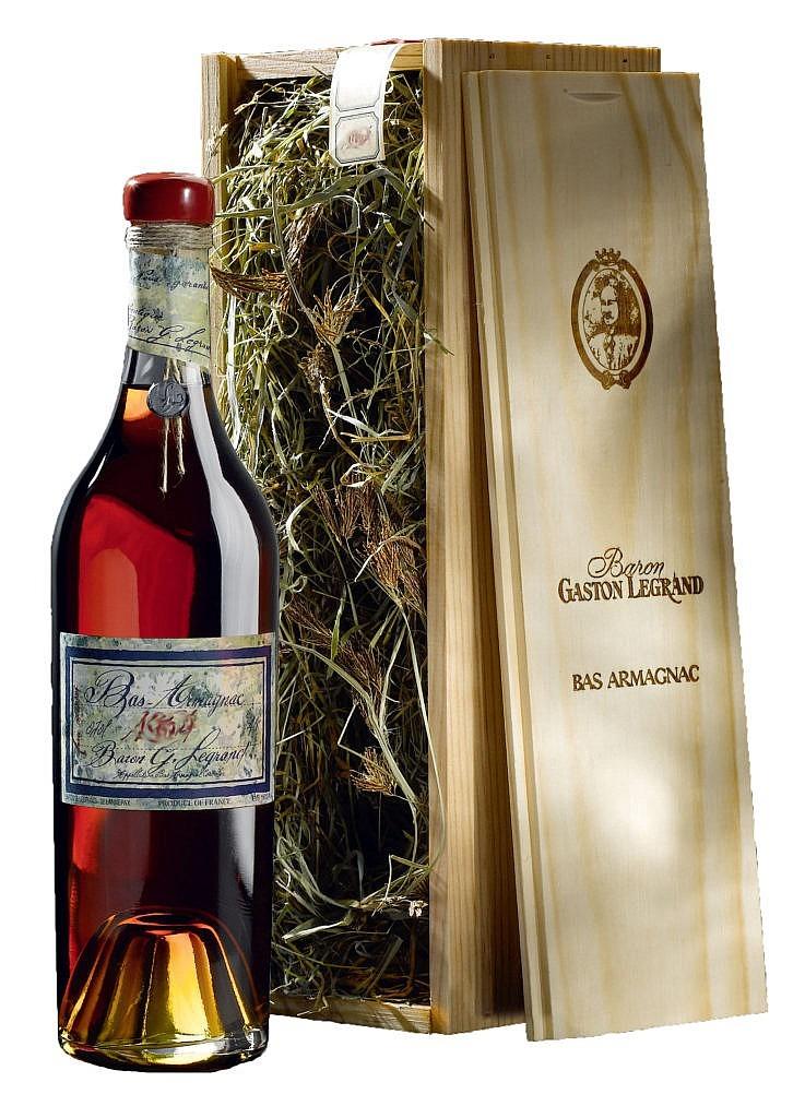Fles & Case - Bas Armagnac - Gaston Legrand 1936 - 0,7l - 40%