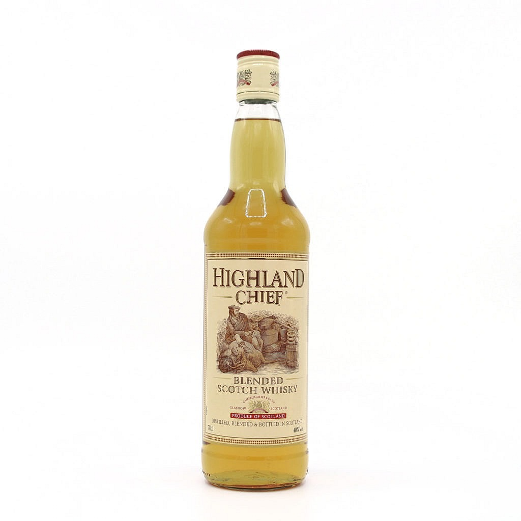 Fles - Whisky - Diverse Blended - HIghland Chief - 0,7l - 40%