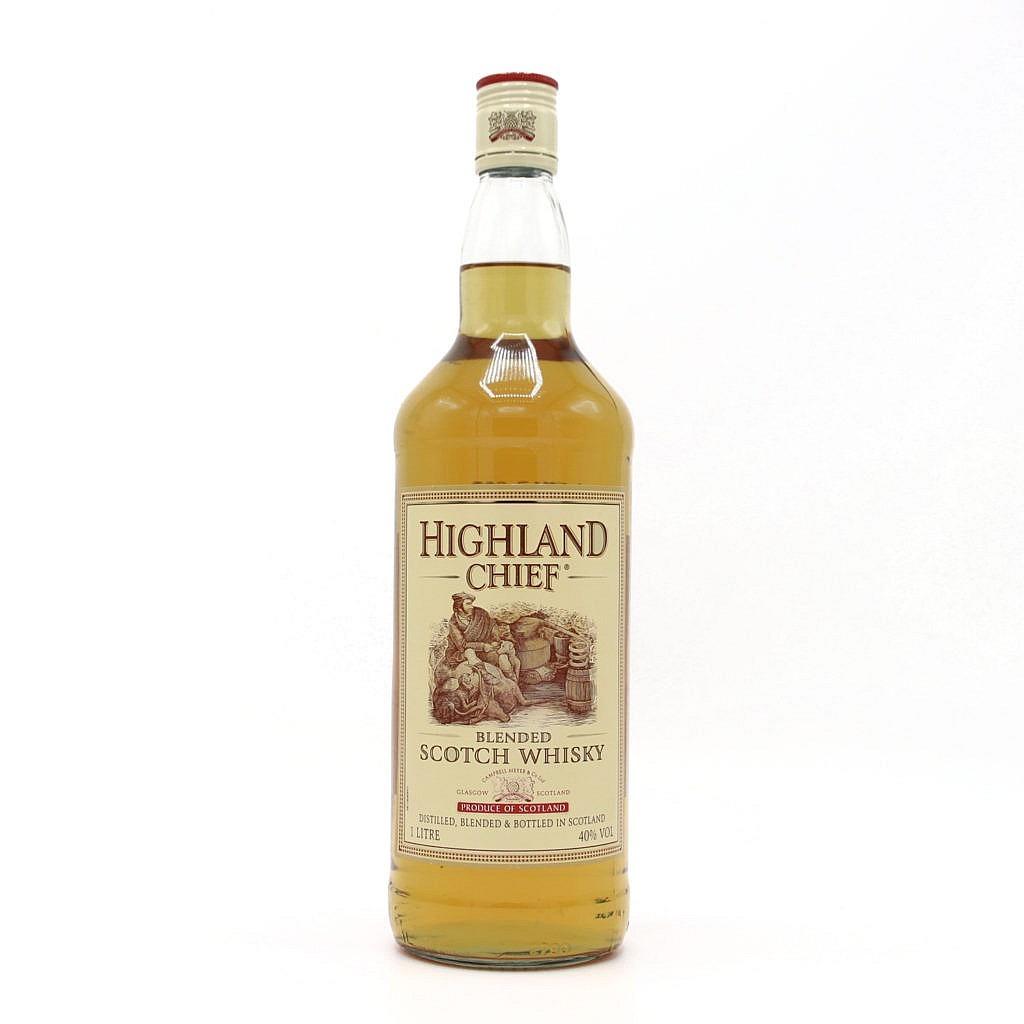 Fles - Whisky - Diverse Blended - HIghland Chief - 1l - 40%