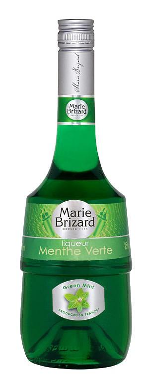 Fles - Likeuren - Marie Brizard - Menthe Verte - 0,7l - 25%