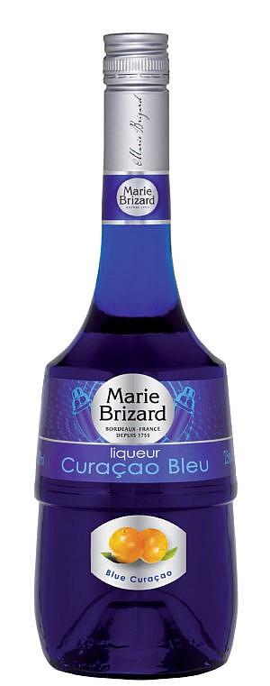 Fles - Likeuren - Marie Brizard - Blue Curacao - 0,5l - 25%