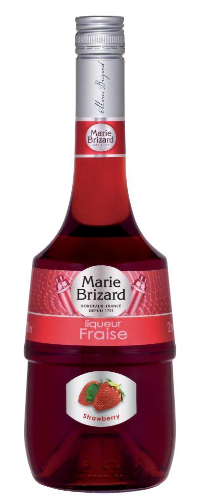 Fles - Likeuren - Marie Brizard - Fraise - 0,7l - 18%