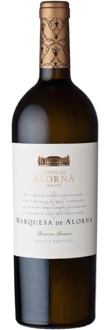Fles - Wijnen - Portugal - Marquesa Da Alorna White - Grande Reserva Wit - 0,75l - 13,5%