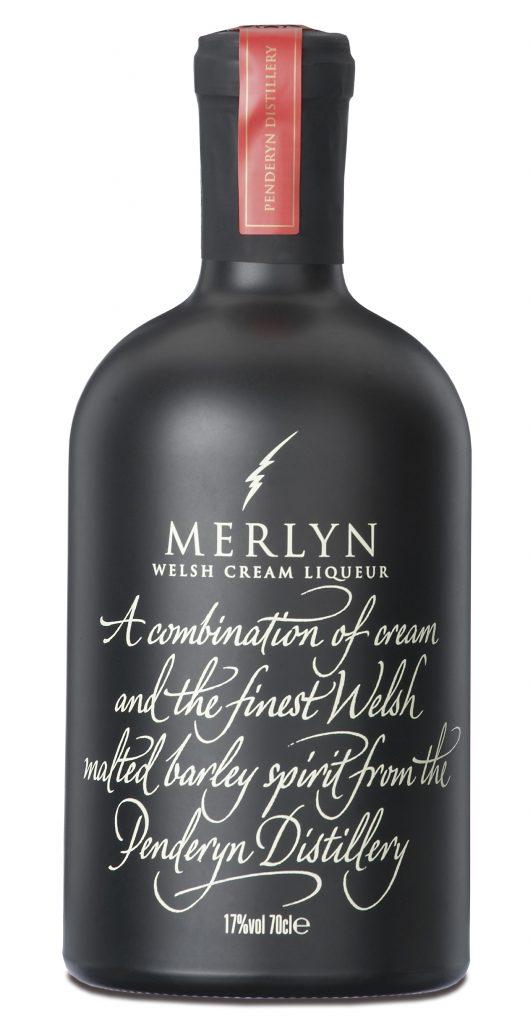 Fles - Likeuren - Penderyn - Merlyn - Welsh - 0,7l - 17%