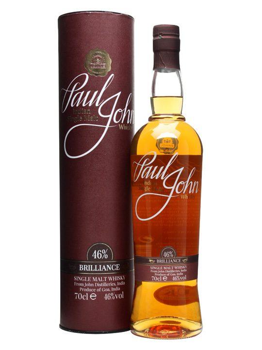 Fles & Case - Whisky - Paul John India - Brilliance - 0.7l - 46%