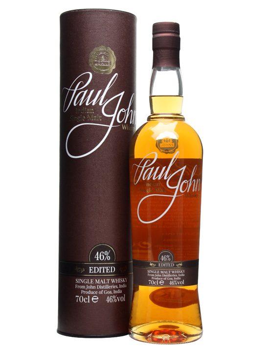 Fles & Case - Whisky - Paul John India - Edited Single Malt - 0.7l -46%%