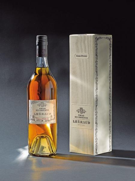 Fles - Pineau De Charentes - Lhéraud - Vintage 15yrs - 0,75l