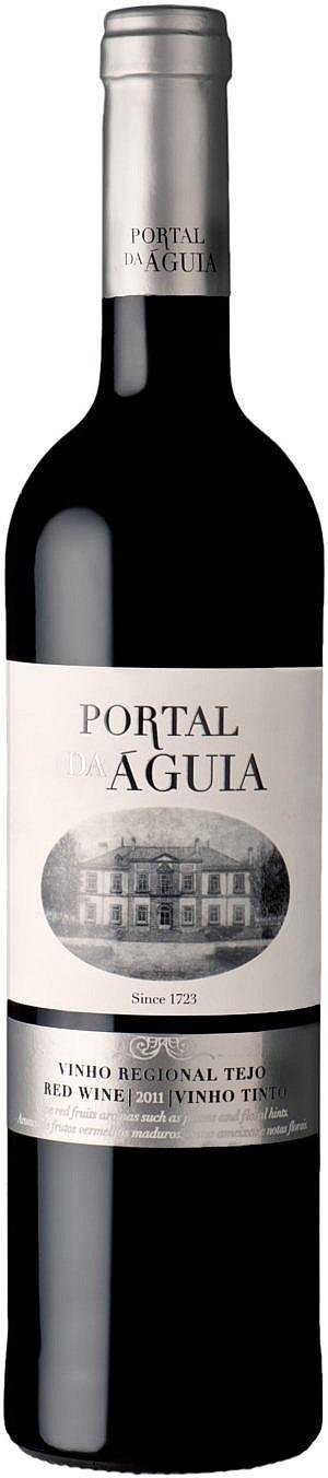 Fles - Wijnen - Portugal - Quinta Da Alorna - Da Aguia Rood - 0,75l - 13%