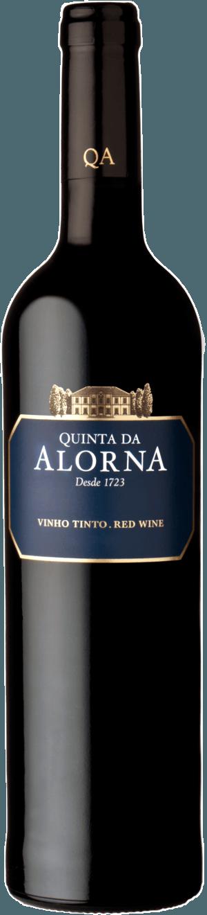 Fles - Wijnen - Portugal - Quinta Da Alorna - Rode Wijn - 0,75l - 13,5%