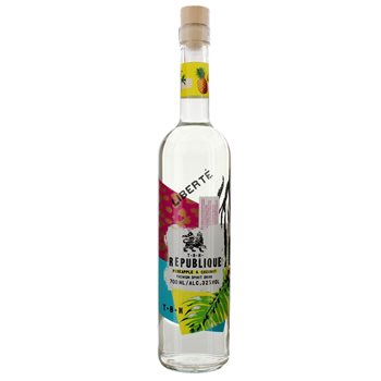 Fles - Rum - TBN Republique - Pineapple & Coconut - 0,7l - 32%