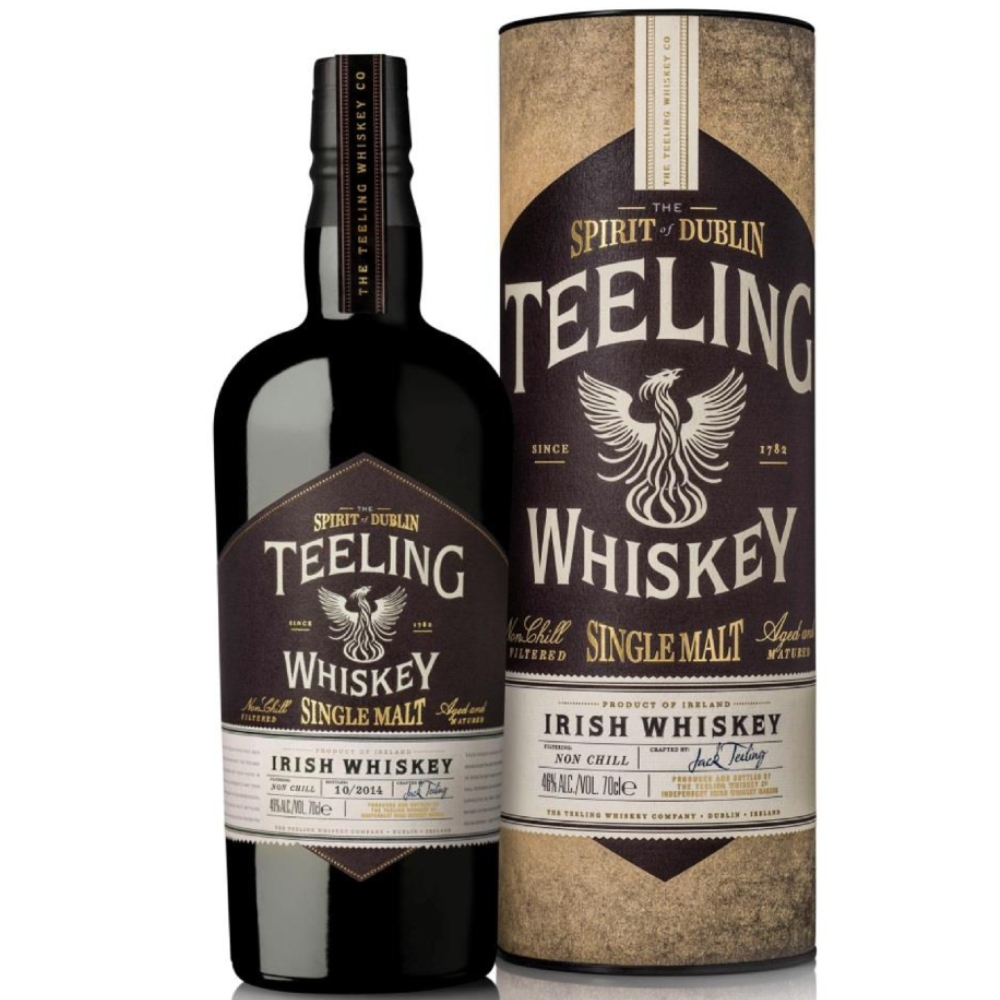 Fles - Whiskey - Teeling - Single Malt - Iers- 0,7l - 46%