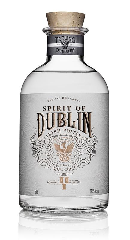 Fles - Whisky - Teeling - Poitin New Spirit of Dublin - 0,5l - 52,5%