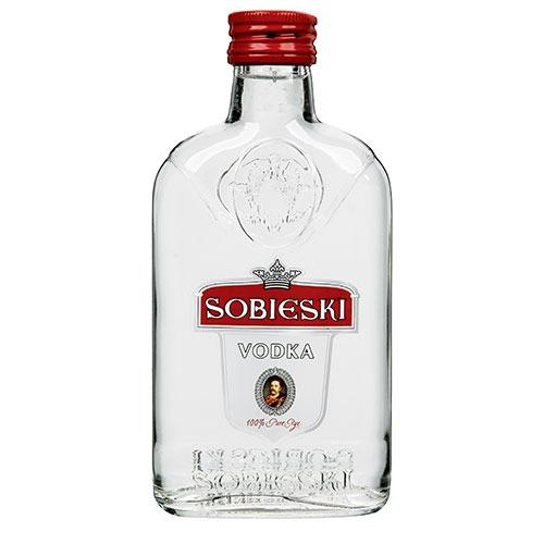 Fles - Vodka - Sobieski - (polen) - 0,2l - 40%