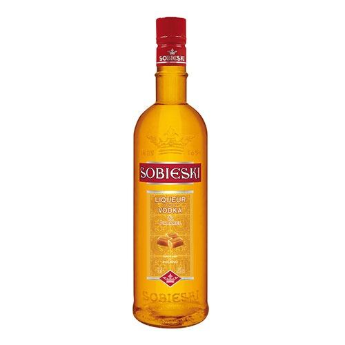 Fles - Vodka - Sobieski - Caramel (polen) - 0,7l - 18%