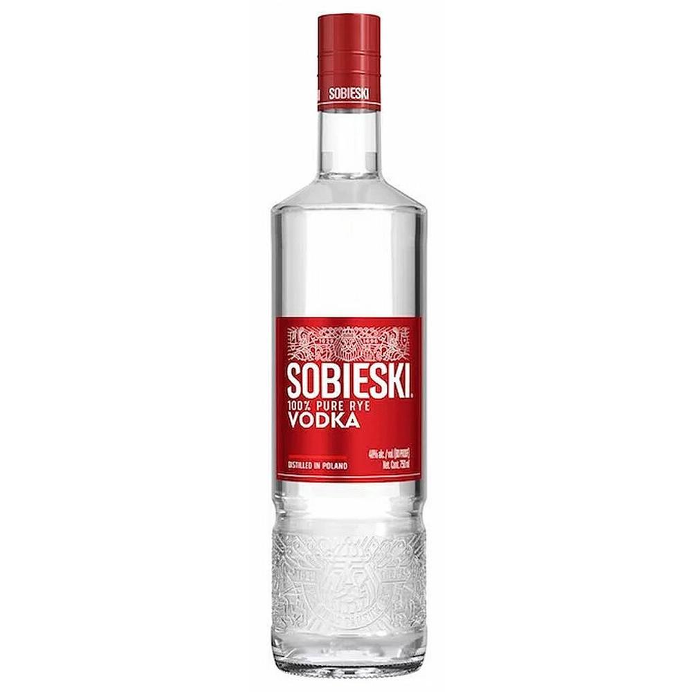 Fles - Vodka - Sobieski - (polen) - 1l - 40%
