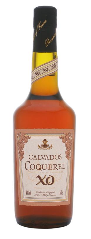 Fles - Calvados - Coquerel - 8y old- X.O. - 0,5l - 40%