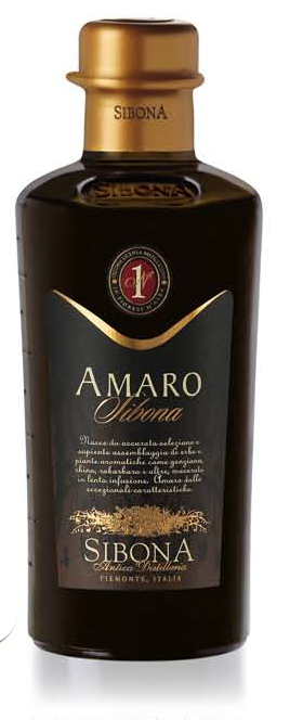 Fles - Grappa - Sibona - Amaro - 0,5l - 28%