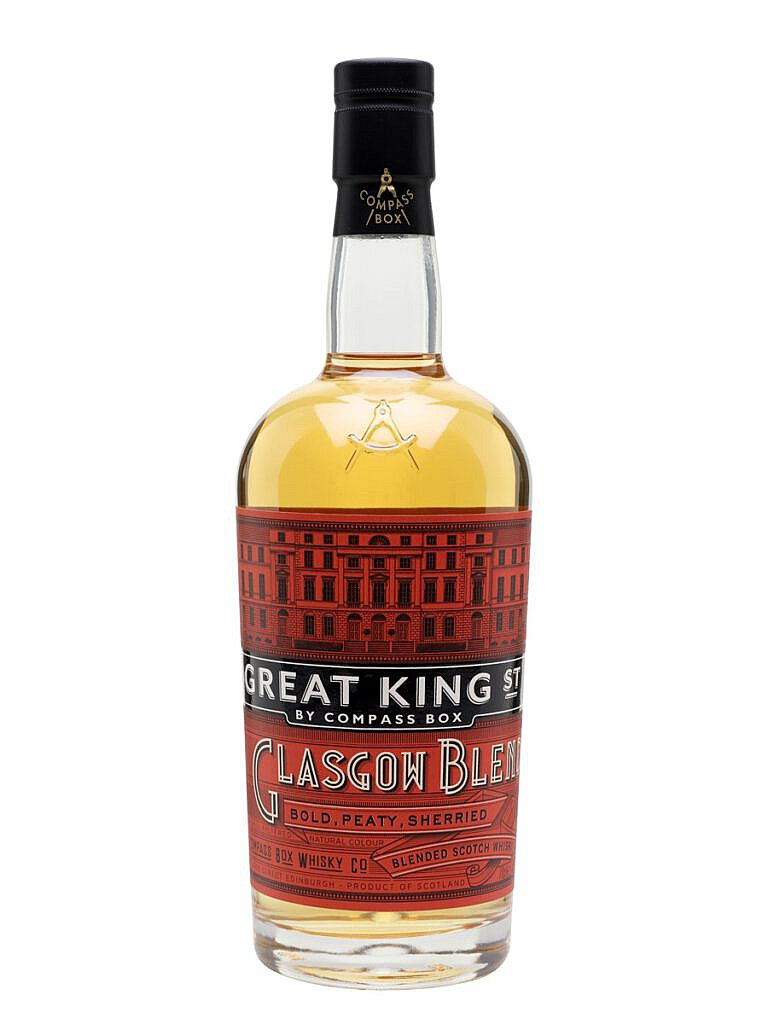 Fles - Whisky - COMPASS BOX - GREAT KING STREET - GLASGOW BLEND - 43% - 0,70L