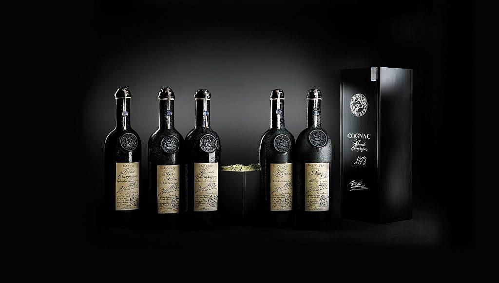 Flessen verzameling - Cognac - Lheraud - Vintage - 0,7l - 40%