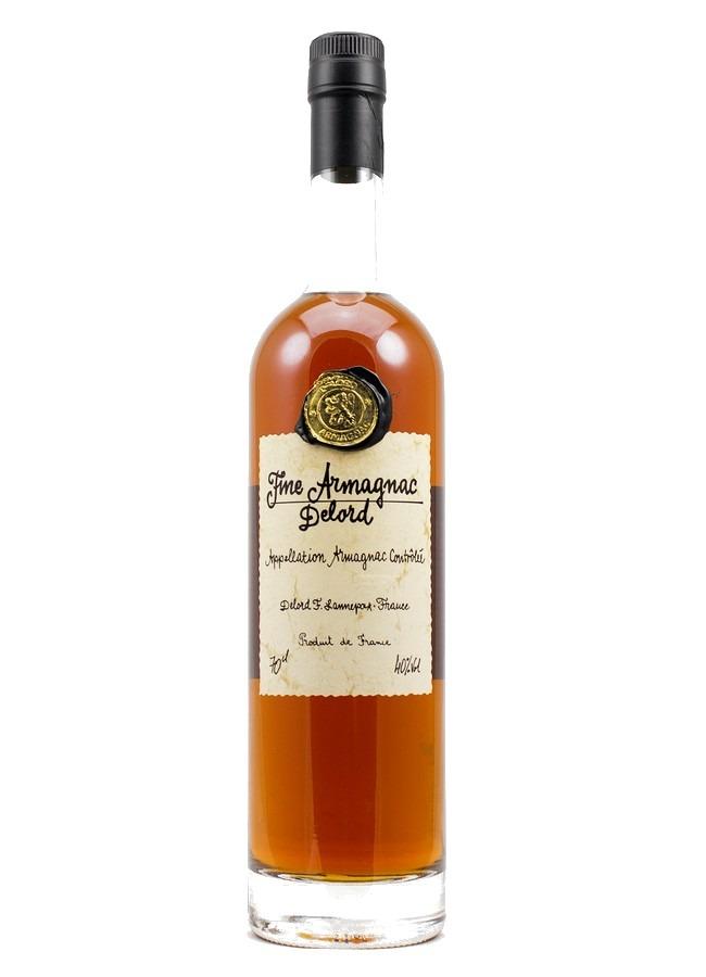 Fles - Bas Armagnac - Delord - Fine- 3yrs - 0,7l - 40%