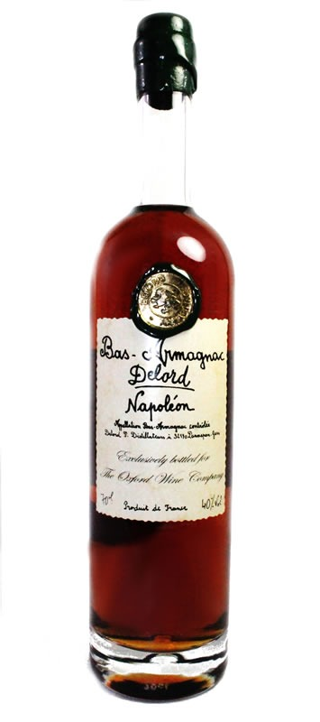 Fles - Bas Armagnac - Delord - Napoleon - 10yrs - 0,7l - 40%