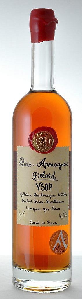 Fles - Bas Armagnac - Delord - VSOP - 5yrs - 0,7l - 40%
