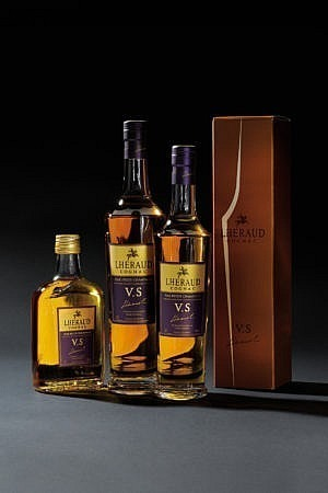 Fles & Case - Cognac - Lhéraud - VS - 0,7l - 40%
