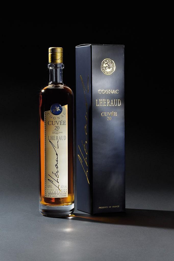 Fles & Case - Cognac - Lhéraud - Cuvée 20 - 0,7l - 43%