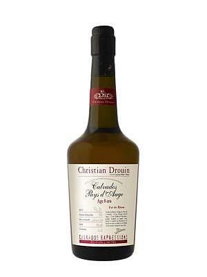 Fles - Calvados - Christian Drouin - Rhum Cask - Pays d'auge - 0,7l - 43%