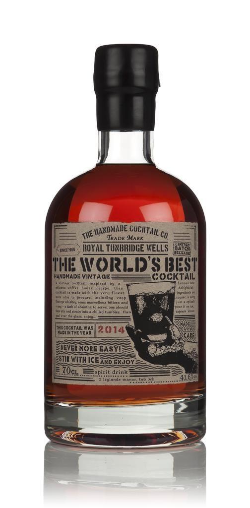 Fles - Likeuren - Master of Malt - Handmade - The World's best Cocktail 2012 - 0,7l - 37,5% - (2)