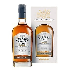 The Coopers Choice Scotch whisky - B&T