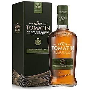 Tomatin 12 yrs Highland - 0,7l - 43%