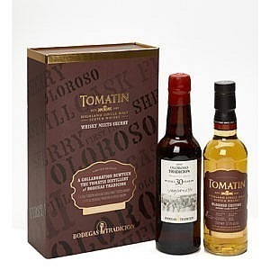 Tomatin meets Bodegas Tradicion sherry Oloroso - Box - 2x,35l -