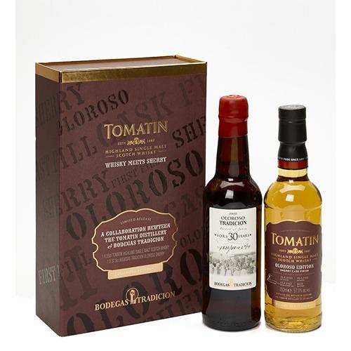 WT631 - Tomatin meets Bodegas Tradicion sherry Oloroso
