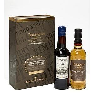 Tomatin meets Bodegas Tradicion sherry PX Box